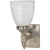 Nuvo 60/466 Triumph 1 Light 5 inch Brushed Nickel Vanity & Wall Wall Light photo thumbnail