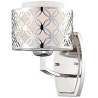 Nuvo Lighting Margaux 1 Light Vanity & Wall in Polished Nickel 60/4661 photo thumbnail
