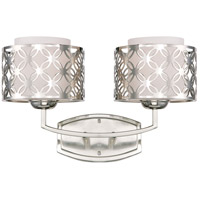 Nuvo Lighting Margaux 2 Light Vanity & Wall in Polished Nickel 60/4662 photo thumbnail