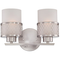 Nuvo Lighting Fusion 2 Light Vanity & Wall in Brushed Nickel 60/4682 photo thumbnail