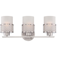Nuvo Lighting Fusion 3 Light Vanity & Wall in Brushed Nickel 60/4683