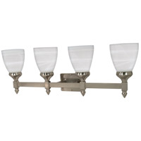 Triumph 4 Light 29 inch Brushed Nickel Vanity & Wall Wall Light