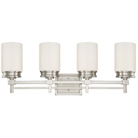 Wright 4 Light 30 inch Brushed Nickel Vanity & Wall Wall Light