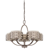 Nuvo Lighting Harlow 5 Light Chandelier in Hazel Bronze 60/4725
