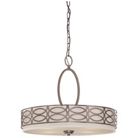Nuvo Lighting Harlow 4 Light Pendant in Hazel Bronze 60/4726