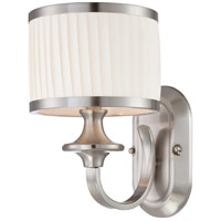 Nuvo 60/4731 Candice 1 Light 11 inch Brushed Nickel Vanity Light Wall Light