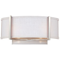 Nuvo 60/4754 Gemini 2 Light 16 inch Brushed Nickel Wall Sconce Wall Light
