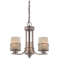Nuvo Lighting Fusion 3 Light Chandelier in Hazel Bronze 60/4787