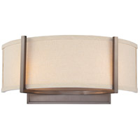 Nuvo Lighting Gemini 2 Light Wall Sconce in Hazel Bronze 60/4854
