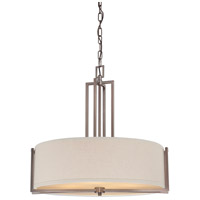 Nuvo Lighting Gemini 4 Light Pendant in Hazel Bronze 60/4856