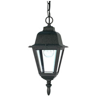 Nuvo Lighting Briton 1 Light Outdoor Hanging Lantern in Textured Black 60/489