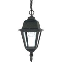 Nuvo 60/489 Briton 1 Light 6 inch Textured Black Outdoor Hanging Lantern