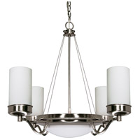 Polaris 6 Light 29 inch Brushed Nickel Chandelier Ceiling Light