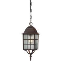Nuvo 60/4912 Adams 1 Light 6 inch Rustic Bronze Outdoor Hanging Lantern