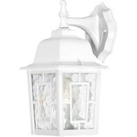 Nuvo Lighting Banyon 1 Light Outdoor Wall Lantern in White 60/4921