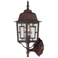Nuvo Lighting Banyon 1 Light Outdoor Wall Lantern in Rustic Bronze 60/4925