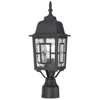 Nuvo Lighting Banyon 1 Light Post Light in Textured Black 60/4929