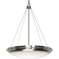 Nuvo 60/493 Polaris 3 Light 23 inch Brushed Nickel Pendant Ceiling Light
