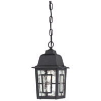 Nuvo Lighting Banyon 1 Light Outdoor Hanging Lantern in Textured Black 60/4933