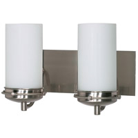 Nuvo Lighting Polaris 2 Light Vanity & Wall in Brushed Nickel 60/495
