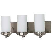 Nuvo 60/496 Polaris 3 Light 21 inch Brushed Nickel Vanity & Wall Wall Light photo thumbnail