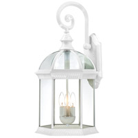 Nuvo 60/4967 Boxwood 3 Light 26 inch White Outdoor Wall Lantern