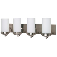 Nuvo 60/497 Polaris 4 Light 30 inch Brushed Nickel Vanity & Wall Wall Light photo thumbnail