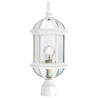 Nuvo Lighting Boxwood 1 Light Post Light in White 60/4974