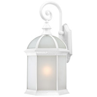 Nuvo Lighting Boxwood 1 Light Outdoor Wall Lantern in White 60/4981