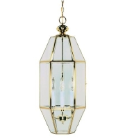 Nuvo Lighting Signature 6 Light Pendant in Polished Brass 60/499