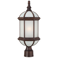 Nuvo Lighting Boxwood 1 Light Post Light in Rustic Bronze 60/4995