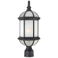 Nuvo Lighting Boxwood 1 Light Post Light in Textured Black 60/4996