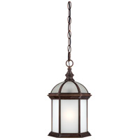 Nuvo Lighting Boxwood 1 Light Outdoor Hanging Lantern in Rustic Bronze 60/4998