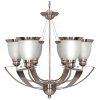 Nuvo Lighting Palladium 6 Light Chandelier in Smoked Nickel 60/500