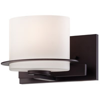 Nuvo 60/5001 Loren 1 Light 8 inch Venetian Bronze Vanity Light Wall Light