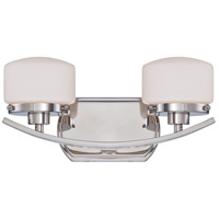 Nuvo Lighting Austin 2 Light Vanity in Polished Nickel 60/5022