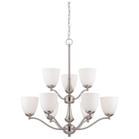 Nuvo Lighting Patton 9 Light Chandelier in Brushed Nickel 60/5039