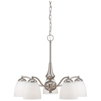 Nuvo Lighting Patton 5 Light Chandelier in Brushed Nickel 60/5043