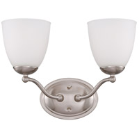 Nuvo Lighting Patton 2 Light Vanity in Brushed Nickel 60/5052