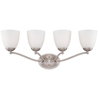 Nuvo Lighting Patton 4 Light Vanity in Brushed Nickel 60/5054