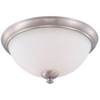 Patton 3 Light 16 inch Brushed Nickel Flush Mount Ceiling Light