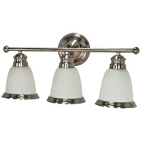 Nuvo Lighting Palladium 3 Light Vanity & Wall in Smoked Nickel 60/508 photo thumbnail