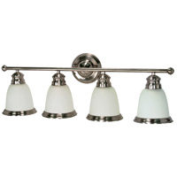 Nuvo Lighting Palladium 4 Light Vanity & Wall in Smoked Nickel 60/509