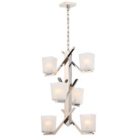 Nuvo 60/5094 Timone 6 Light 19 inch Polished Nickel Pendant Ceiling Light