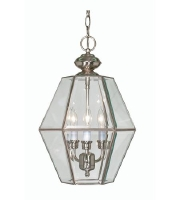 Nuvo Lighting Signature 3 Light Pendant in Brushed Nickel 60/510