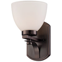 Bentley 1 Light 7 inch Hazel Bronze Vanity Wall Light
