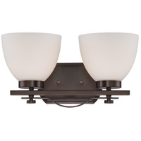 Bentley 2 Light 15 inch Hazel Bronze Vanity Wall Light