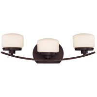 Nuvo Lighting Austin 3 Light Vanity in Russet Bronze 60/5123
