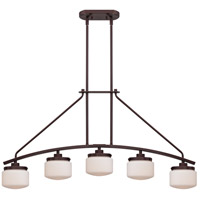 Nuvo Lighting Austin 5 Light Island Pendant in Russet Bronze 60/5124