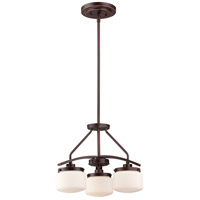 Nuvo Lighting Austin 3 Light Pendant in Russet Bronze 60/5127